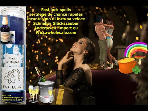 Fast Luck Candle,Magic of Brighid,Deusch