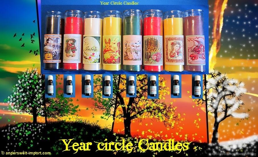Samhain, Julfest, Imbolc, Ostara, Beltane, Litha, Lughnasad, Mabon. 8 Jahreskreisfeste