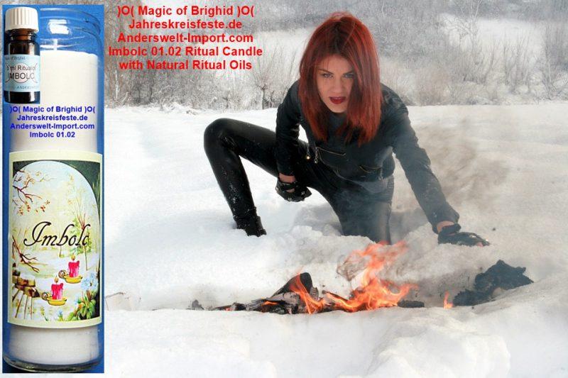 Imbolc Goettin Brigid Ritual, Lichtmess, Wicca Jahreskreis Wheel of the year rituals